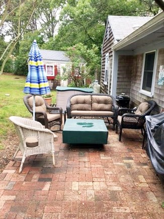 Eastham Cape Cod vacation rental - Patio Seating