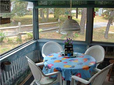 Eastham Cape Cod vacation rental - Cottage  Porch