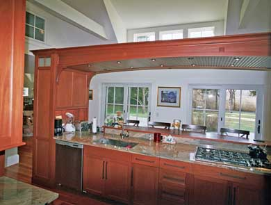East Orleans Cape Cod vacation rental - Kitchen with granite counter tops and 5-burner gas range