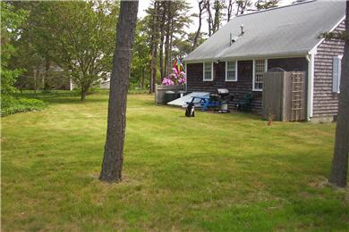 Harwich Cape Cod vacation rental - Nice yard to enjoy friends. Also has outdoor hot/cold shower