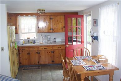 Harwich Cape Cod vacation rental - Kitchen and eating area