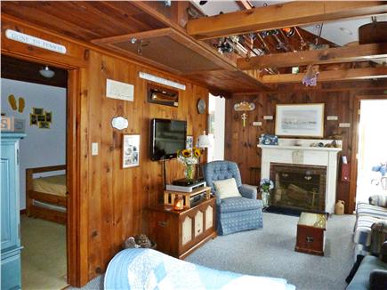 West Dennis Cape Cod vacation rental - Cozy and Warm Living Room with HDTV and WiFi
