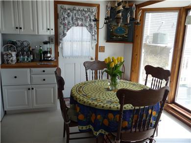 West Dennis Cape Cod vacation rental - Cheerful Eat-in Kitchen