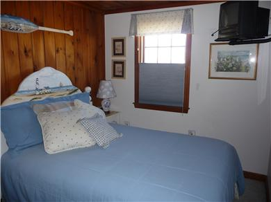 West Dennis Cape Cod vacation rental - The Nautical Bedroom with TV