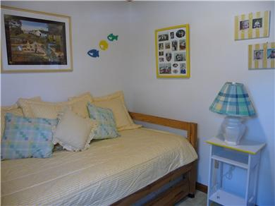West Dennis Cape Cod vacation rental - The Yellow Bedroom with Trundle