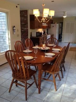 Wellfleet Cape Cod vacation rental - Spacious dining area