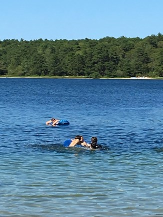Wellfleet Cape Cod vacation rental - Sparkling ponds