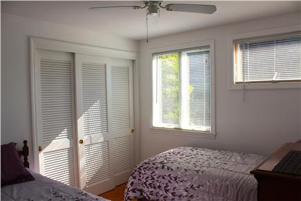 West Yarmouth - Lewis Bay Cape Cod vacation rental - Bedroom #2, Twin Beds, new mattress & comforters.