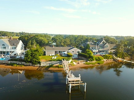 West Yarmouth - Lewis Bay Cape Cod vacation rental - Great water frontage & dock a former island surround by wildlife.