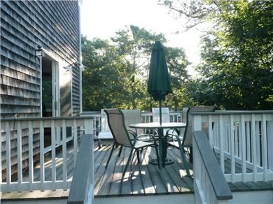 Chatham Cape Cod vacation rental - Large deck with gas grill