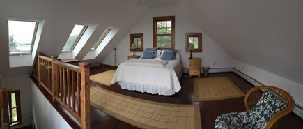 Woods Hole Woods Hole vacation rental - Upstairs bedroom with deck access