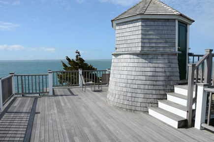 Woods Hole Woods Hole vacation rental - Deck and tower