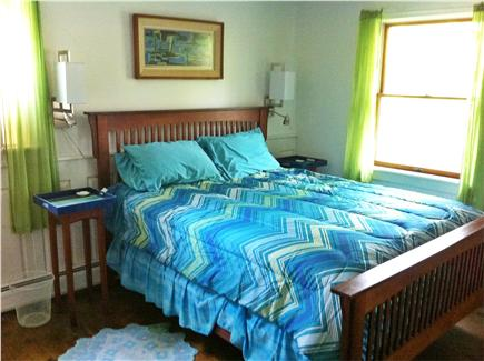 Wellfleet Cape Cod vacation rental - Master suite #1, ground floor, queen, full bath, walk-in closet