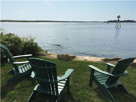 Woods Hole Woods Hole vacation rental - Enjoy coffee or cocktails in our (new) adirondack chairs