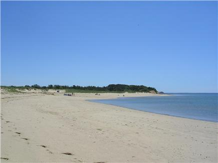 Wellfleet Cape Cod vacation rental - Indian Neck Beach, less than a mile away...You'll love it here!!