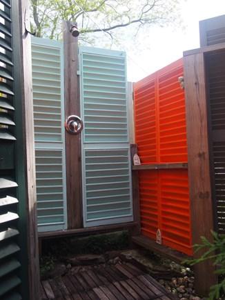 Wellfleet Cape Cod vacation rental - Spacious outdoor shower!