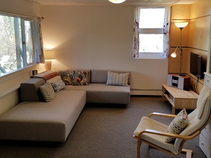 Wellfleet Cape Cod vacation rental - Comfy Living Room! with NEW sectional sofa!