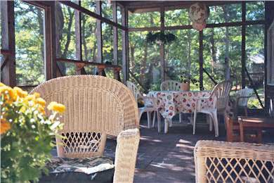 Wellfleet Cape Cod vacation rental - Spacious screen porch with dining and seating areas!