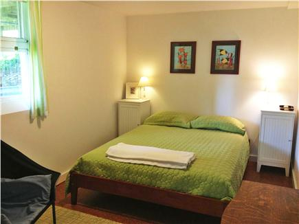 Wellfleet Cape Cod vacation rental - New queen-size bed with small sitting area in masterbedroom!