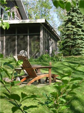 Wellfleet Cape Cod vacation rental - Adirondack chairs for relaxing in the yard!