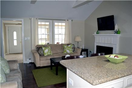 Dennis Port Cape Cod vacation rental - Kitchen looking into family room