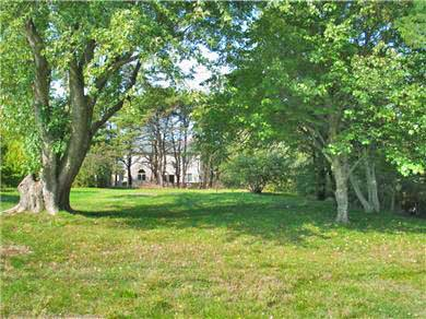 North Truro Cape Cod vacation rental - The expansive yard offers many beautiful plantings and privacy.