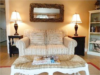 North Truro Cape Cod vacation rental - Another view of the living room.
