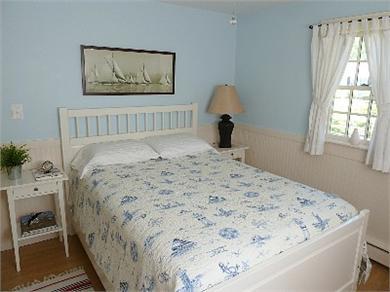 North Truro Cape Cod vacation rental - Birds Nest Bedroom  - Full Bed, closet and dresser