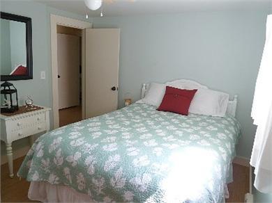 North Truro Cape Cod vacation rental - Seaglass Bedroom - Queen bed, closet and dresser