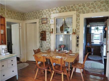 So. Yarmouth Cape Cod vacation rental - Quaint eat-in kitchen with hardwood floor