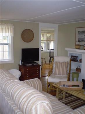Dennis Port Cape Cod vacation rental - Living Room w/Flat Screen HD