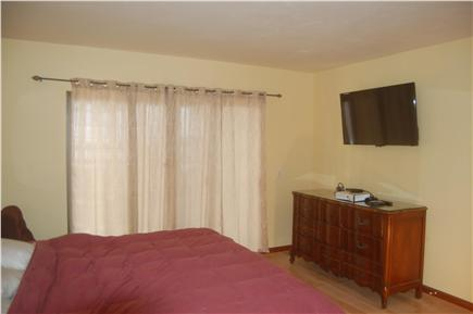 Wellfleet Cape Cod vacation rental - Bedroom #2: New Posturepedic King size bed, w private bath, TV