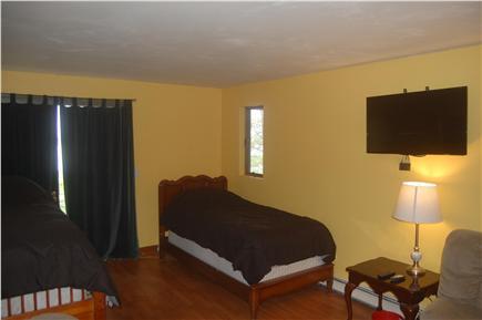 Wellfleet Cape Cod vacation rental - Bedroom #1: two twin beds with harbor views
