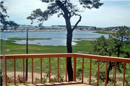 Wellfleet Cape Cod vacation rental - View from the Master Bedroom #1 deck