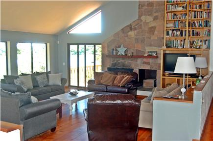 Wellfleet Cape Cod vacation rental - Living room area