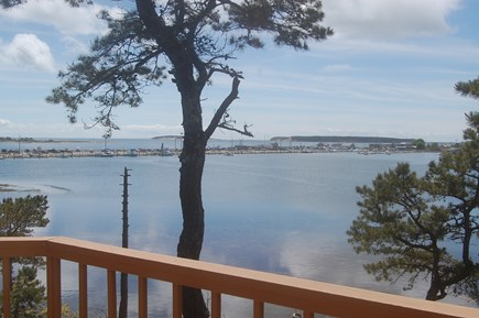 Wellfleet Cape Cod vacation rental - View from Second Deck