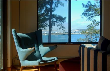 Wellfleet Cape Cod vacation rental - Bay View from Living Area