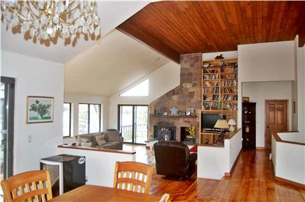 Wellfleet Cape Cod vacation rental - Open dining and living area