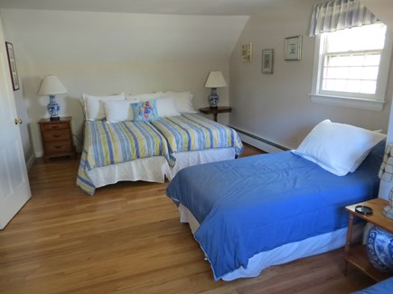 Dennis Cape Cod vacation rental - Second floor bedroom; 4 twin or two twin and a king bed