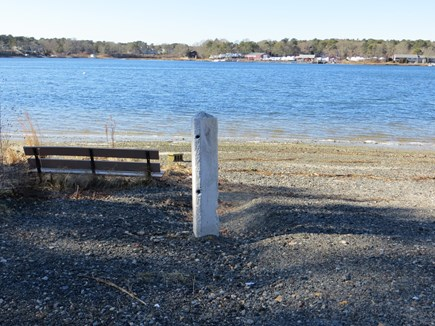 Dennis Cape Cod vacation rental - Kelley Bay at end of street