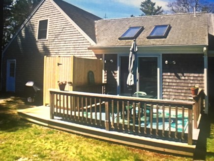 Dennis Cape Cod vacation rental - Backyard