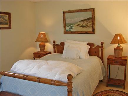 East Orleans Cape Cod vacation rental - Lower level bedroom with  bath and  walk out to lawn