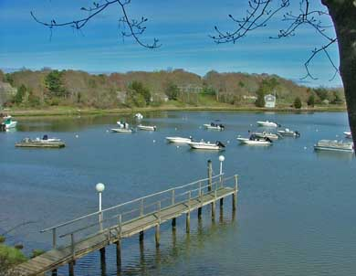 East Orleans Cape Cod vacation rental - Boat or kayak off dock