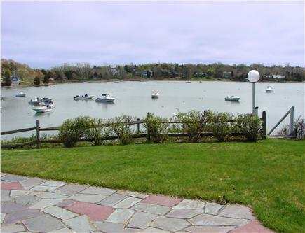 East Orleans Cape Cod vacation rental - Enjoy meals and cocktails on peaceful waterfront patio