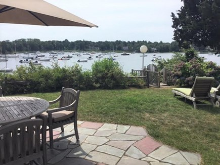 East Orleans Cape Cod vacation rental - Great view of the water from the patio