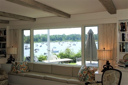 East Orleans Cape Cod vacation rental - Sit and relax, watch the boats travel by