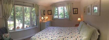 East Orleans Cape Cod vacation rental - Queen bedroom with water view on main floor