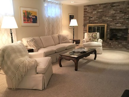 East Orleans Cape Cod vacation rental - Family room with flat-screen TVE