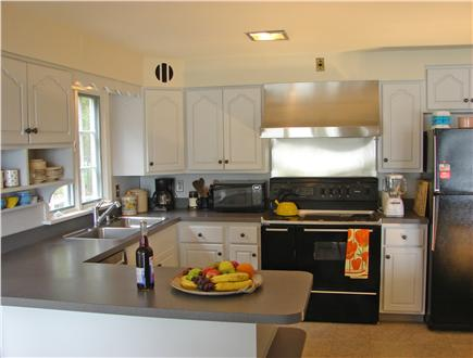 East Orleans Cape Cod vacation rental - Modern, vaulted kitchen