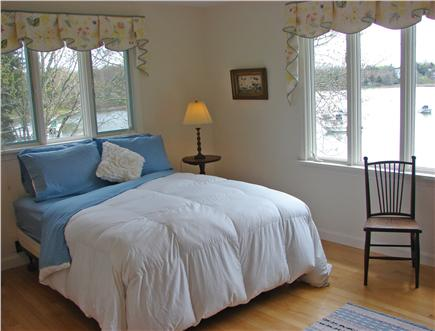 East Orleans Cape Cod vacation rental - Sun-filled main floor Master bedroom with expansive water views